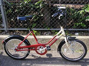 赤い20インチ自転車 VEGAS